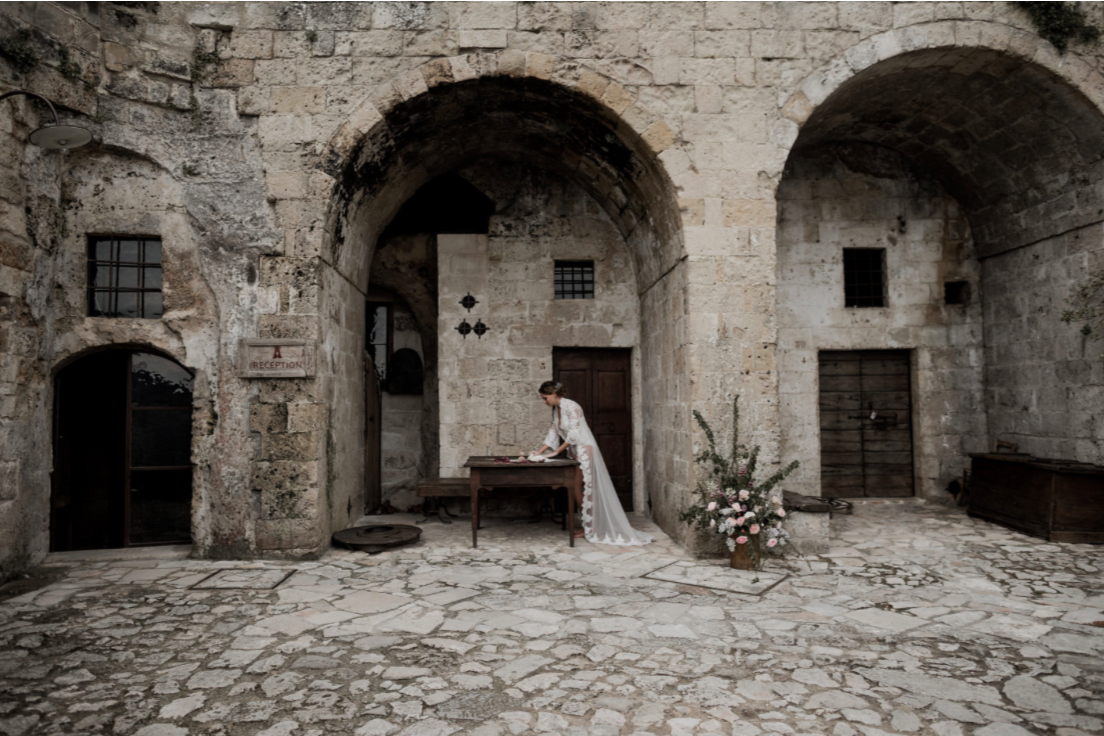 Wedding matera sextantio