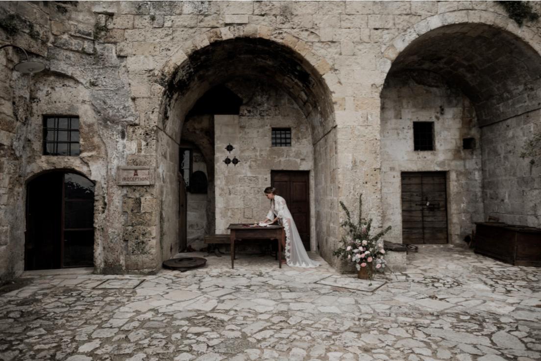 Wedding matera sextantio