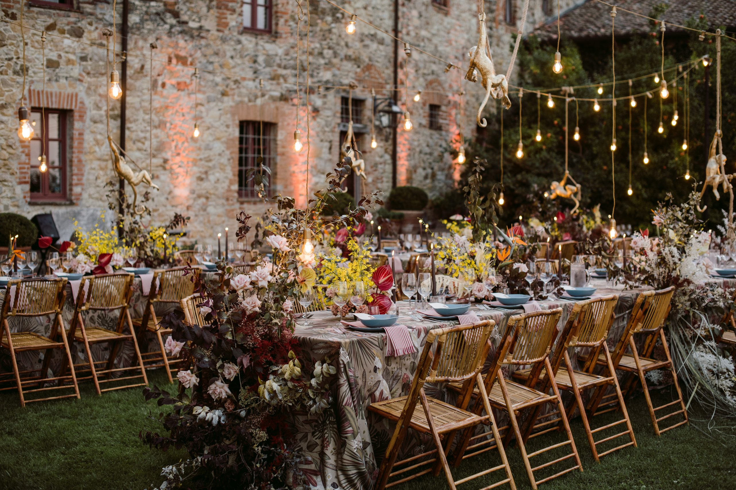 Eclectic wedding